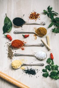 especias para cocinar